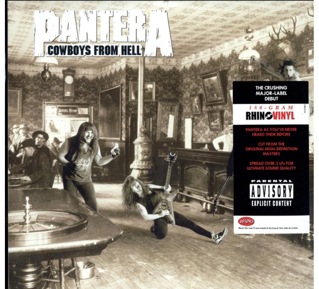 Home :: Music :: Vinyl :: Rock :: Pantera - Cowboys from Hell LP [NEW]